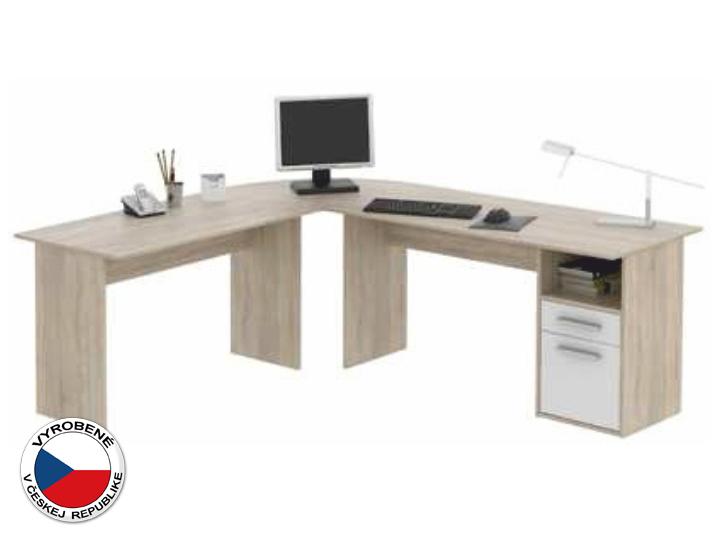 Rohový PC stolík - Tempo Kondela - Maurus - MA11