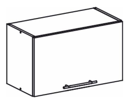 Horná kuchynská skrinka nad digestor - Tempo Kondela - Monda - W60OK. Sme autorizovaný predajca Tempo-Kondela. Vlastná spoľahlivá doprava až k Vám domov.
