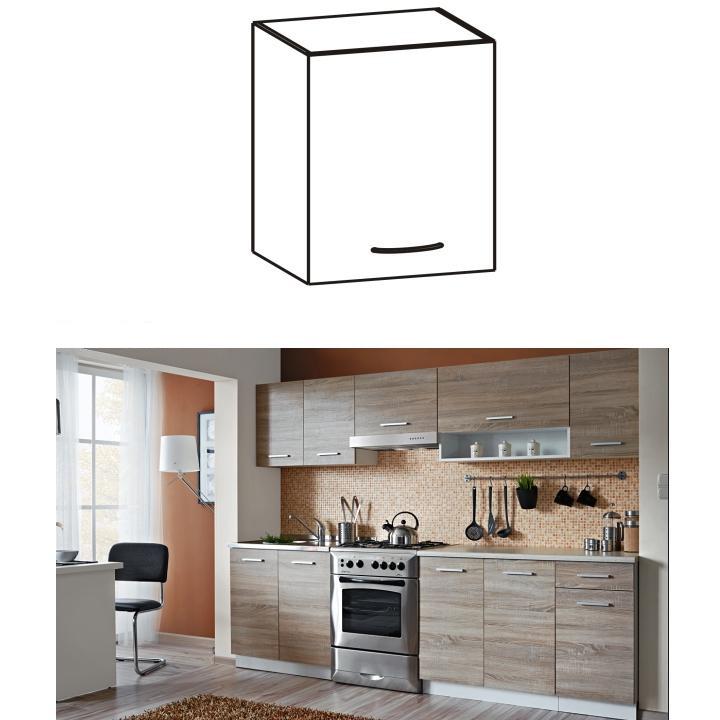 Horná kuchynská skrinka - Tempo Kondela - Cyra New - G-40. Sme autorizovaný predajca Tempo-Kondela. Vlastná spoľahlivá doprava až k Vám domov.