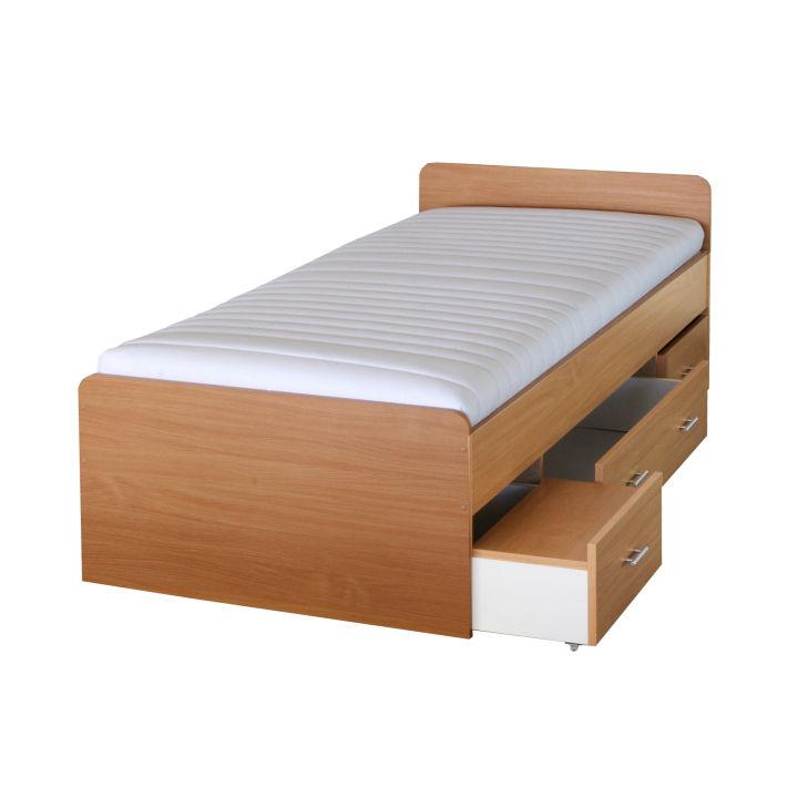 Jednolôžková posteľ 90 cm - Tempo Kondela - Duet 80262 buk - 22. Sme autorizovaný predajca Tempo-Kondela. Vlastná spoľahlivá doprava až k Vám domov.