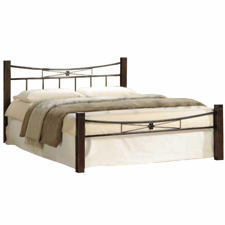 Manželská posteľ 160 cm Paula (s roštom)