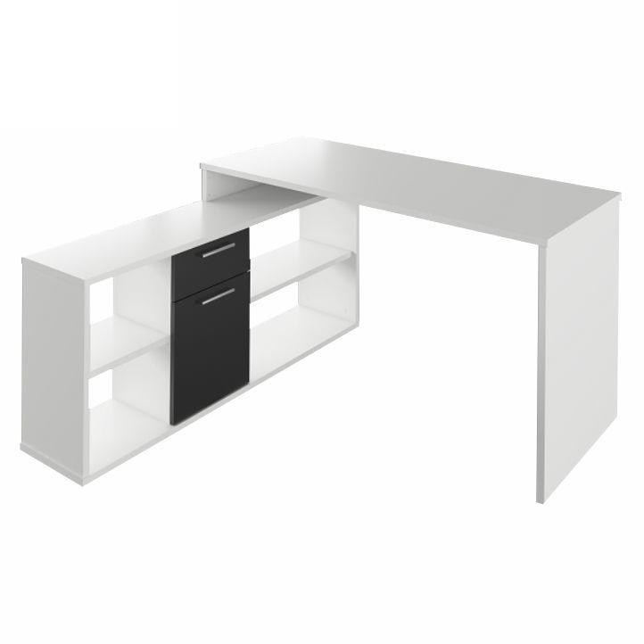 PC stolík - Tempo Kondela - Noe new (biela + čierna). Akcia -10%. Sme autorizovaný predajca Tempo-Kondela. Vlastná spoľahlivá doprava až k Vám domov.