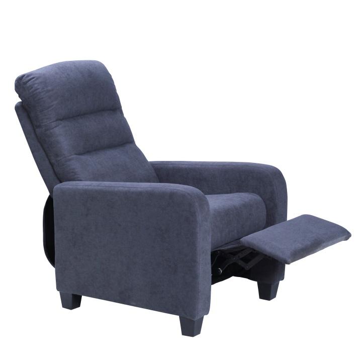 Relaxačné kreslo - Tempo Kondela - Turner (modrá). Sme autorizovaný predajca Tempo-Kondela. Vlastná spoľahlivá doprava až k Vám domov.