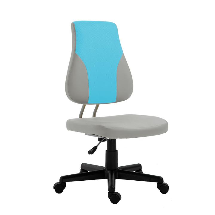 Kancelárske kreslo Randal (sivá + modrá)