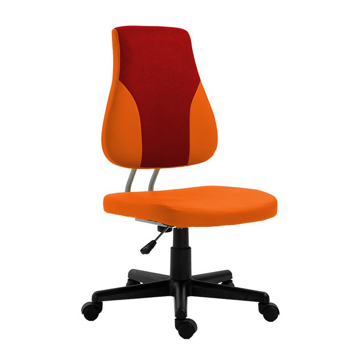 Kancelárske kreslo Randal (červená + oranžová)