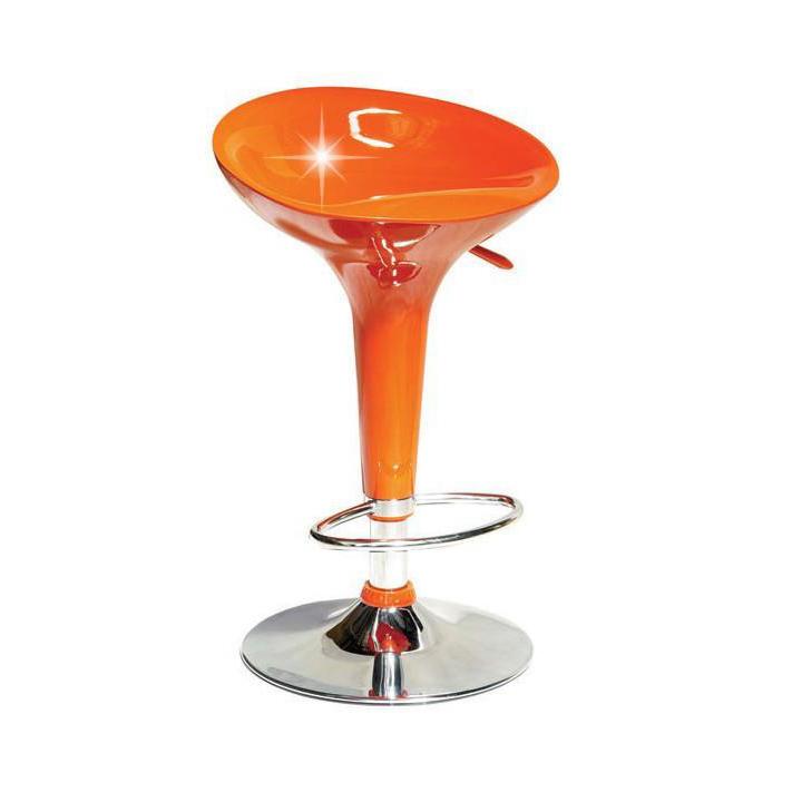 Barová stolička Inge Nova oranžová