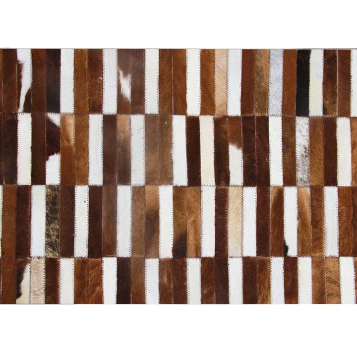Kožený koberec - Tempo Kondela - TYP 05 (hovädzia koža + vzor patchwork). Sme autorizovaný predajca Tempo-Kondela. Vlastná spoľahlivá doprava až k Vám domov.