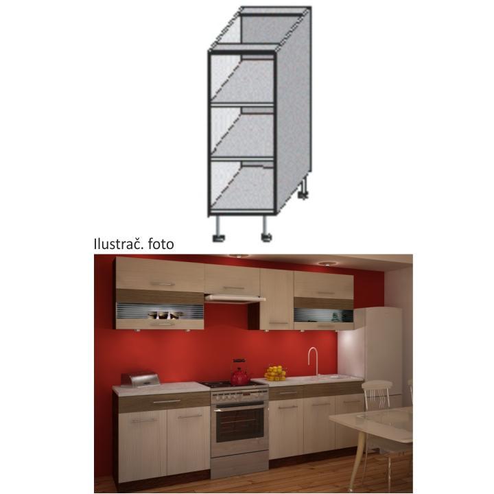 Dolná kuchynská skrinka - Tempo Kondela - Jura New - DO-20. Sme autorizovaný predajca Tempo-Kondela. Vlastná spoľahlivá doprava až k Vám domov.