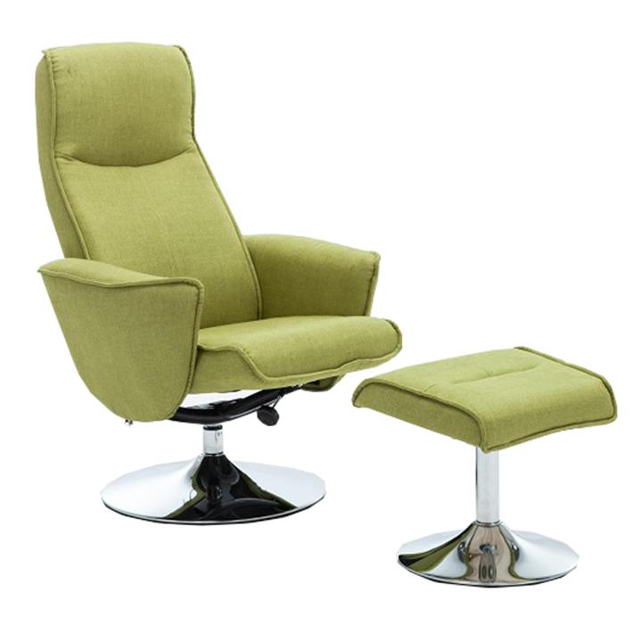 Relaxačné kreslo - Tempo Kondela - Lonato (zelená). Sme autorizovaný predajca Tempo-Kondela. Vlastná spoľahlivá doprava až k Vám domov.