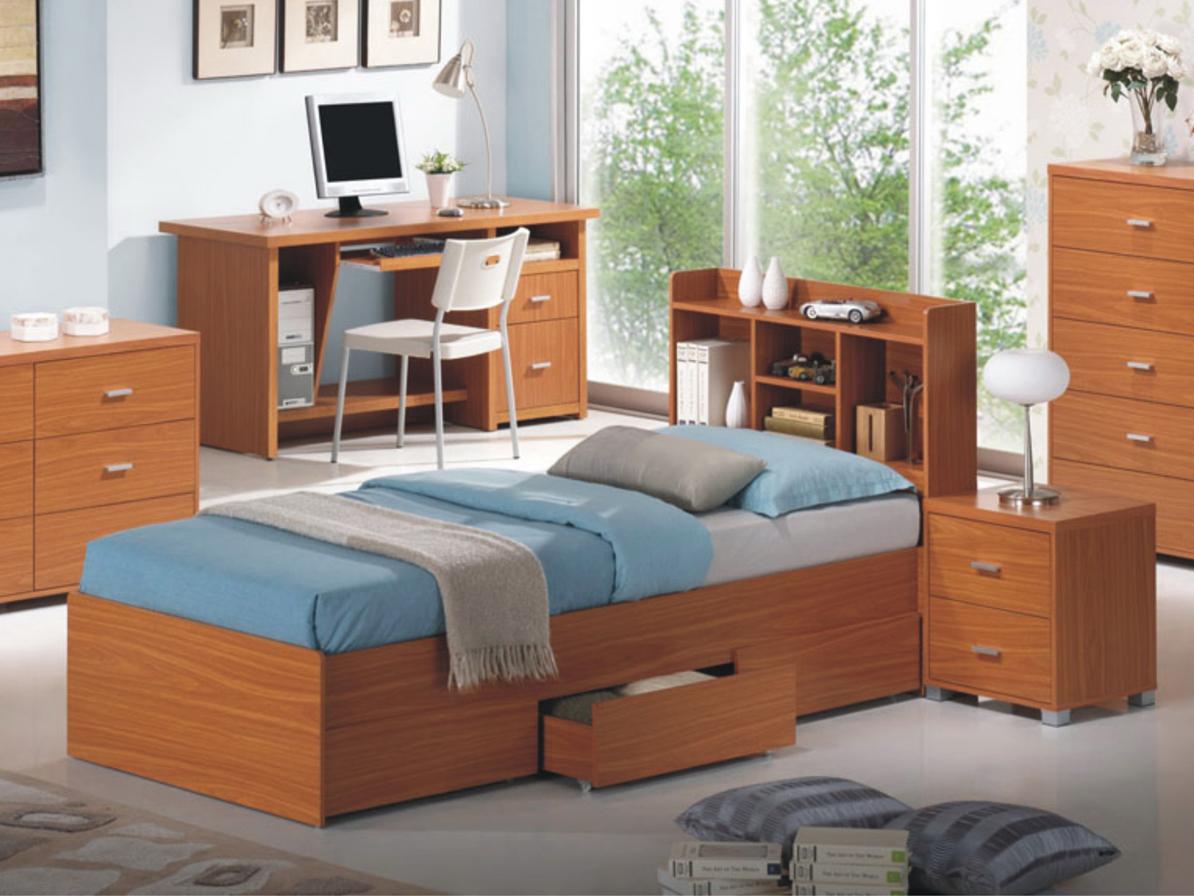 Jednolôžková posteľ 90 cm - Tempo Kondela - Oscar (s roštom)