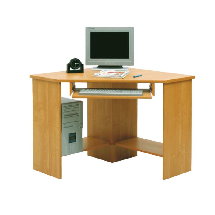 Rohový PC stolík - Tempo Kondela - B3 buk