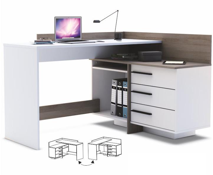 Rohový PC stolík - Tempo Kondela - Tale 484879