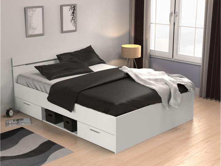 7a2e83b4fb61 Manželská posteľ 140 cm Michigan (biela)