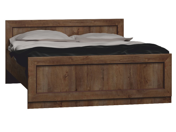 Manželská posteľ 160 cm - Tempo Kondela - Tedy - Typ T20 (s roštom)