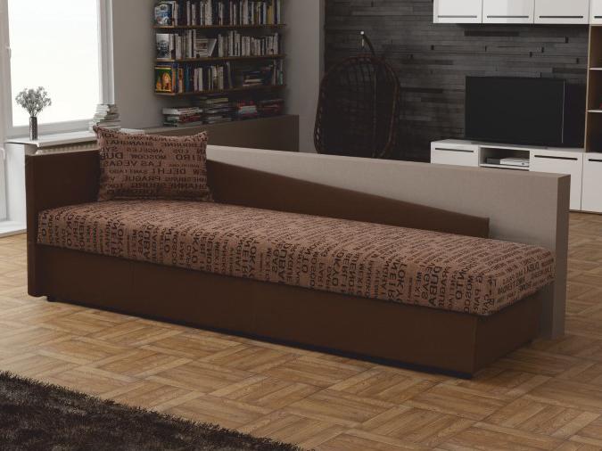 Jednolôžková posteľ (váľanda) 80 cm - Tempo Kondela - Judit (hnedá) (s úl. priestorom) (Ľ). Sme autorizovaný predajca Tempo-Kondela. Vlastná spoľahlivá doprava až k Vám domov.