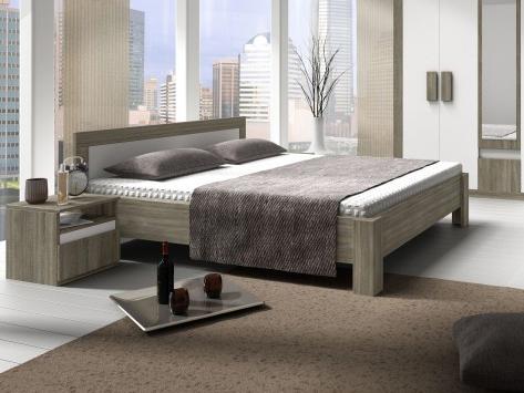 Manželská posteľ 160 cm - Tempo Kondela - Mediolan