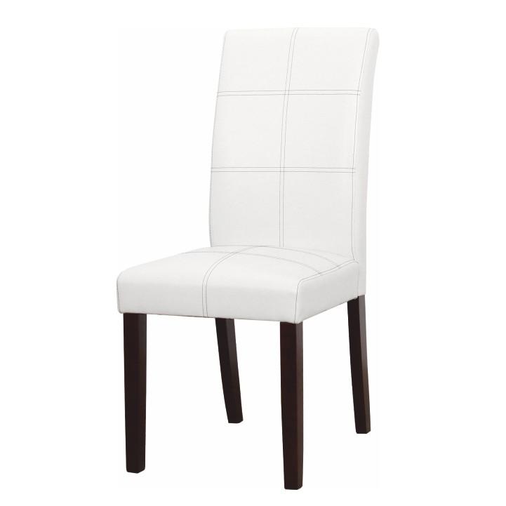 Jedálenská stolička - Tempo Kondela - Rory - R2 (biela + orech tmavý). Sme autorizovaný predajca Tempo-Kondela. Vlastná spoľahlivá doprava až k Vám domov.