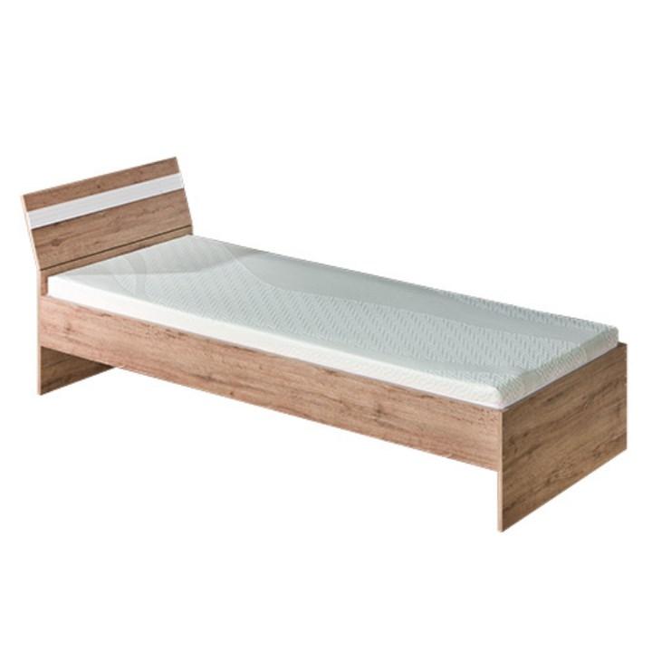 Jednolôžková posteľ 90 cm - Tempo Kondela - Rovin - R12 (s roštom)