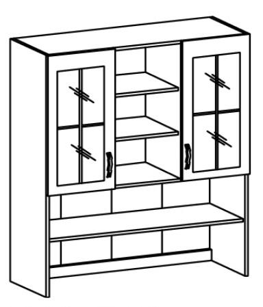 Kuchynská vitrína (nadstavba) - Tempo Kondela - Royal - K120