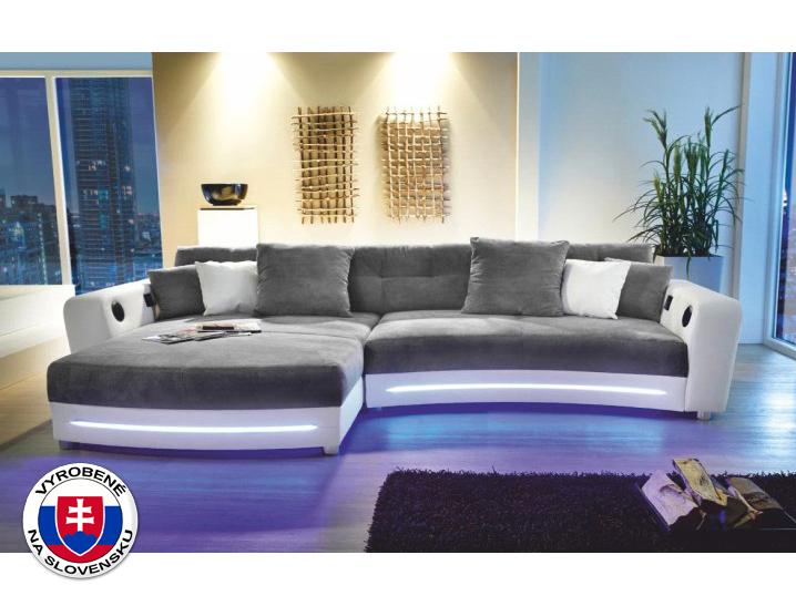 Rohová sedačka - Tempo Kondela - Luxlaredo (L) (s audiosystémom a LED)