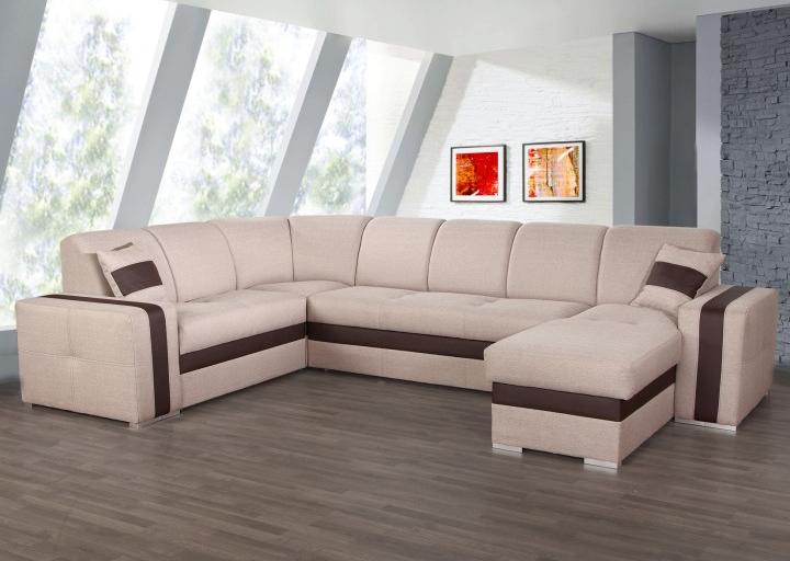 Rohová sedačka U - Tempo Kondela - Rosana (L)