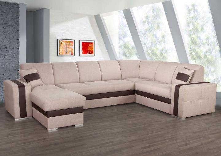 Rohová sedačka U - Tempo Kondela - Rosana (P)