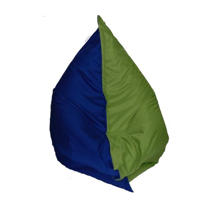 Sedací vak - Tempo Kondela - Pilov - zelená modrá