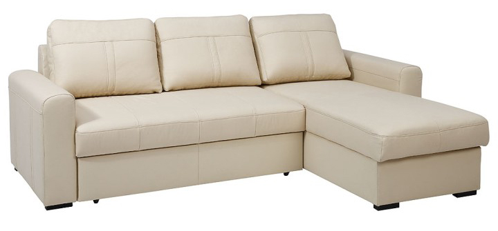 Kožená rohová sedačka - Tempo Kondela - Paso cream (P). Doprava ZDARMA. Sme autorizovaný predajca Tempo-Kondela. Vlastná spoľahlivá doprava až k Vám domov.