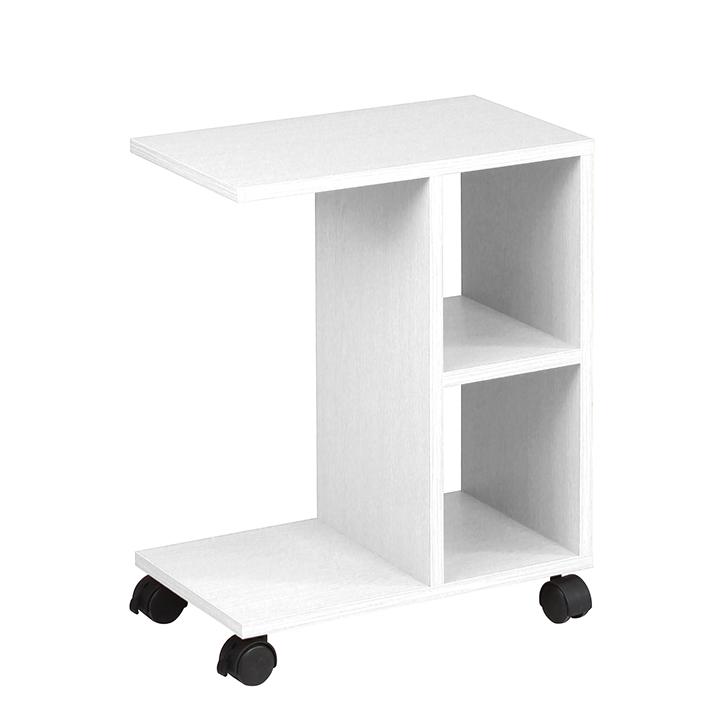 Servírovací stolík - Tempo Kondela - Abbas (biela). Sme autorizovaný predajca Tempo-Kondela. Vlastná spoľahlivá doprava až k Vám domov.