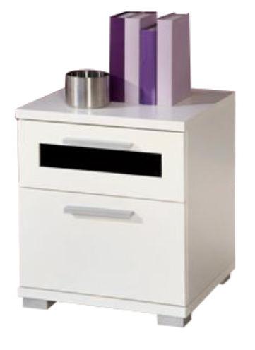 Nočný stolík - Tempo Kondela - Solido 9 biela