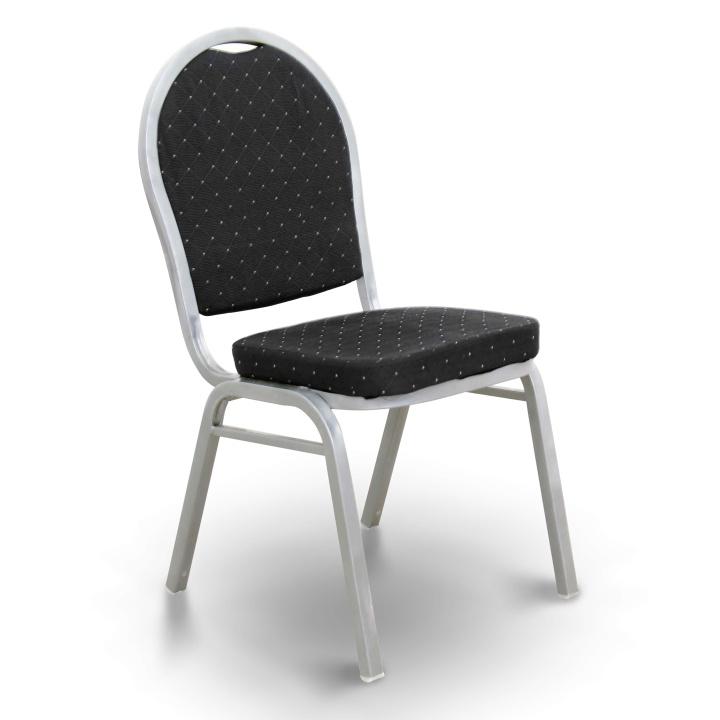 Jedálenská stolička - Tempo Kondela - Jeff - Čierna