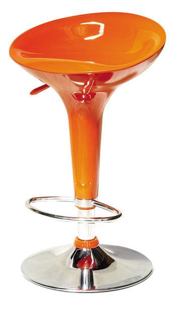 Barová stolička - Tempo Kondela - Inge New oranžová
