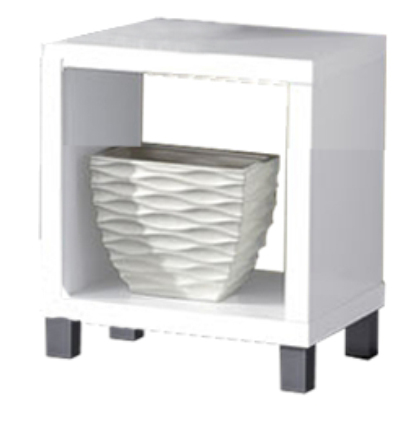 Nočný stolík - Tempo Kondela - Tofi New 1 biela