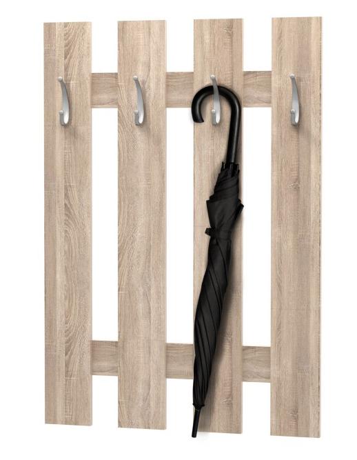 Vešiakový panel - Tempo Kondela - Korado dub sonoma *výpredaj