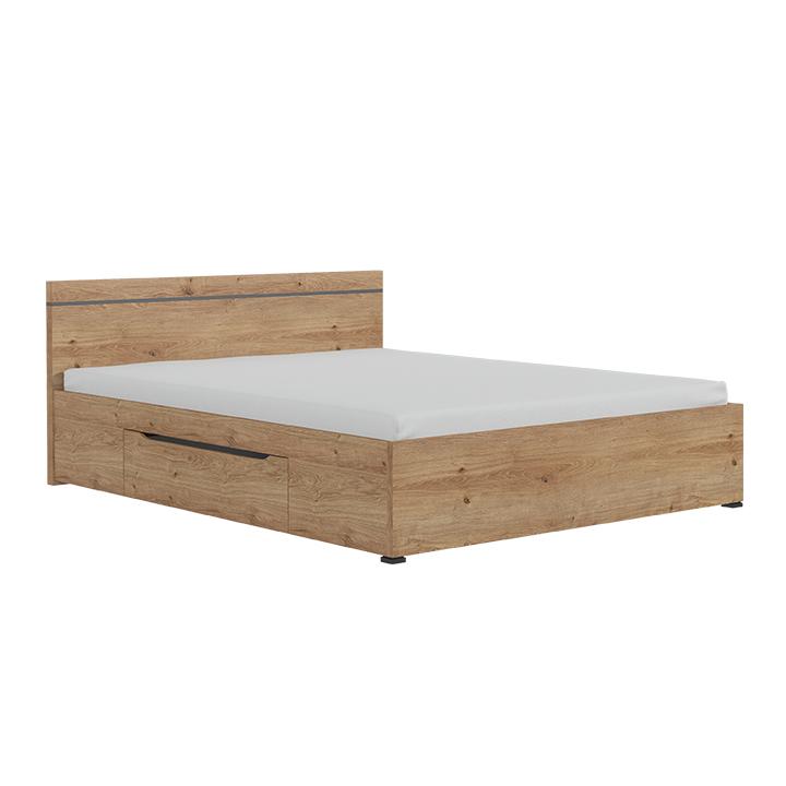 Manželská posteľ 160 cm - Tempo Kondela - Utah. Sme autorizovaný predajca Tempo-Kondela. Vlastná spoľahlivá doprava až k Vám domov.
