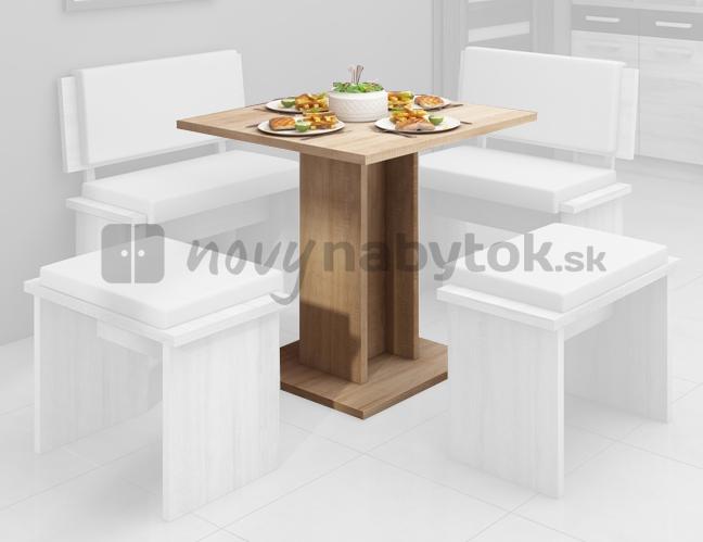 Jedálenský stôl Bond BON-04 3 (pre 4 osoby)