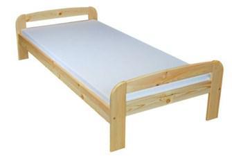 Manželská posteľ 140 cm - WIP - Bartek (masív)