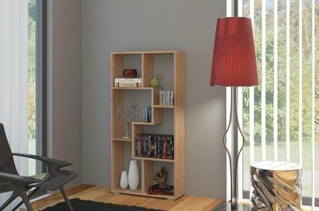 Regál - WIP - Domino B úzky dub sonoma svetlý. Sme autorizovaný predajca WIP. Vlastná spoľahlivá doprava až k Vám domov.