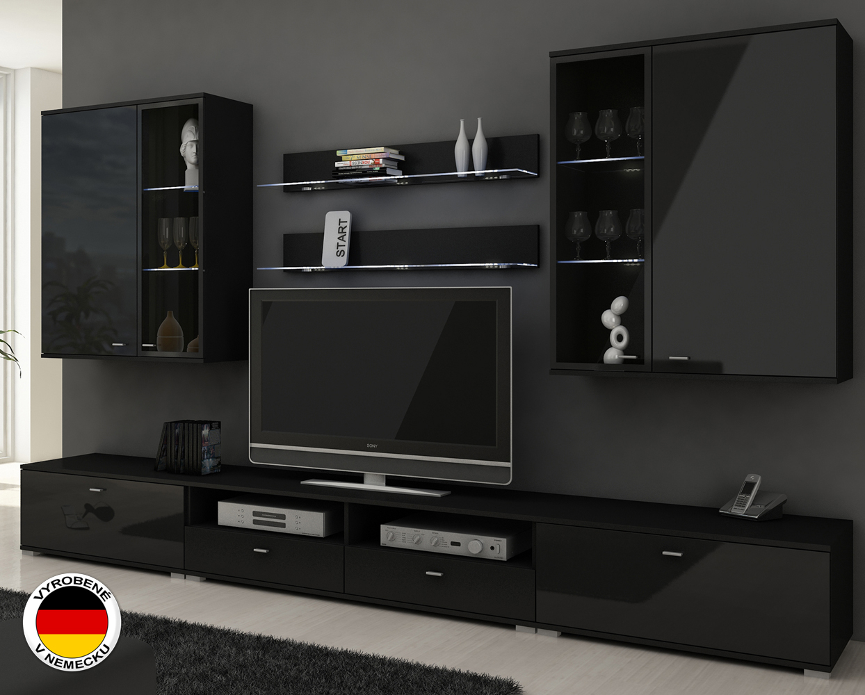 ob vacia stena erfurt ierna nov n. Black Bedroom Furniture Sets. Home Design Ideas