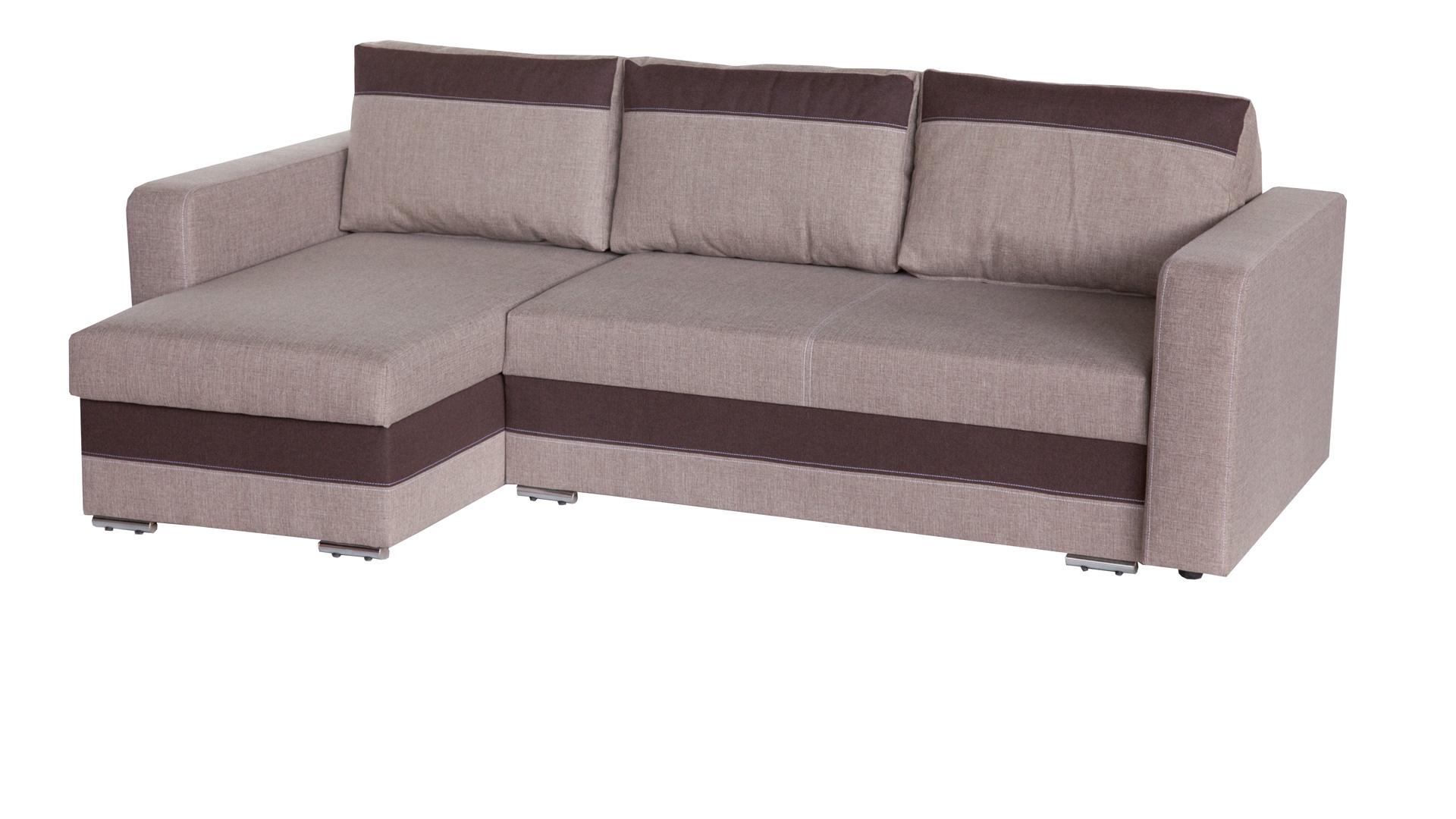 Rohová sedačka - WIP - Aleksander béžová + hnedá (L)