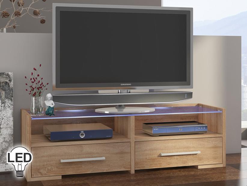 TV stolík/skrinka - WIP - Semprio (sonoma svetlá)