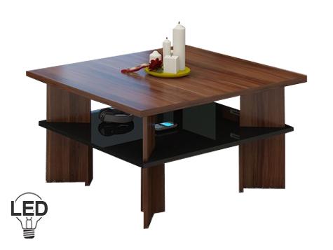 Konferenčný stolík - WIP - Vectra 1 (slivka + lesk čierny). Sme autorizovaný predajca WIP. Vlastná spoľahlivá doprava až k Vám domov.