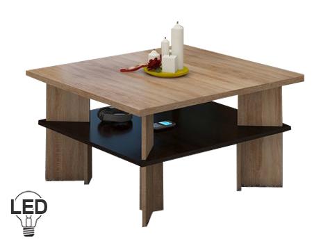 Konferenčný stolík - WIP - Vectra 1 (sonoma svetlá + tmavá). Sme autorizovaný predajca WIP. Vlastná spoľahlivá doprava až k Vám domov.
