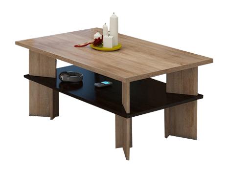 Konferenčný stolík - WIP - Vectra 2 (sonoma svetlá + tmavá). Sme autorizovaný predajca WIP. Vlastná spoľahlivá doprava až k Vám domov.