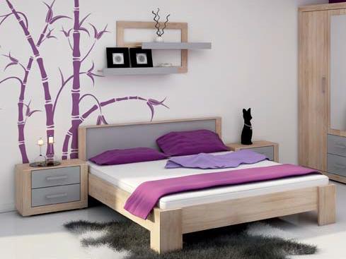 Manželská posteľ 160 cm - WIP - Viki - VIK 11