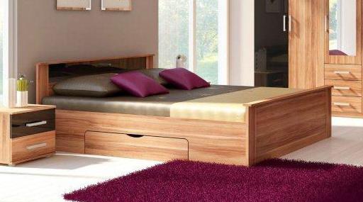 Manželská posteľ 160 cm - WIP - Tango 1 SP