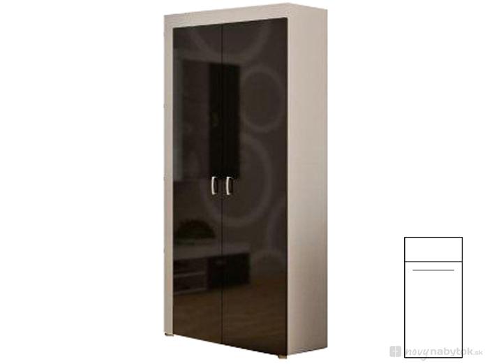 Šatníková skriňa - WIP - Mamba 3. Sme autorizovaný predajca WIP. Vlastná spoľahlivá doprava až k Vám domov.