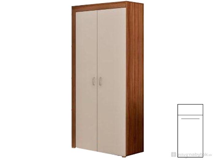 Šatníková skriňa - WIP - Mamba 1. Sme autorizovaný predajca WIP. Vlastná spoľahlivá doprava až k Vám domov.