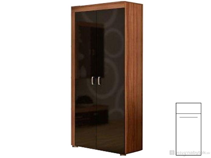 Šatníková skriňa - WIP - Mamba 4. Sme autorizovaný predajca WIP. Vlastná spoľahlivá doprava až k Vám domov.