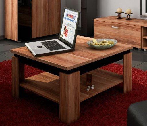 Konferenčný stolík - WIP - Alfa (Slivka + Lesk čierny). Sme autorizovaný predajca WIP. Vlastná spoľahlivá doprava až k Vám domov.